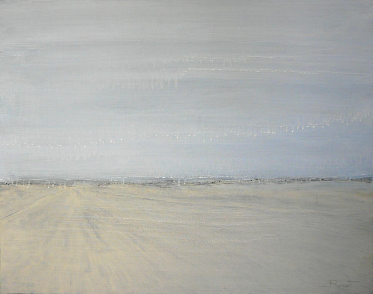 Fuite - acrylique sur toile - 92x73 cm ROCH