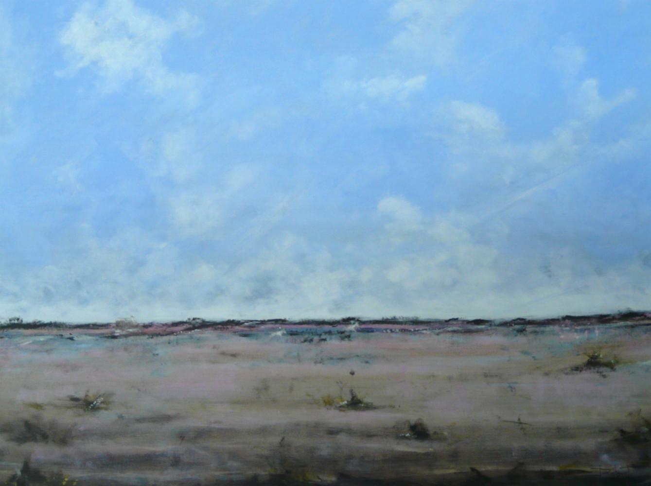 Camargue - acrylique sur toile 116x89 cm