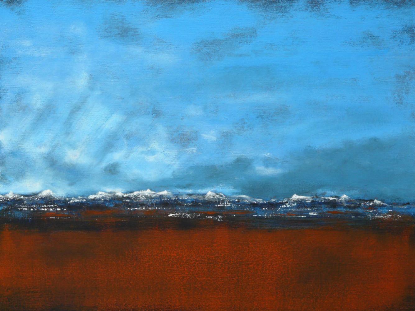 red desert - acrylique sur toile 61x46