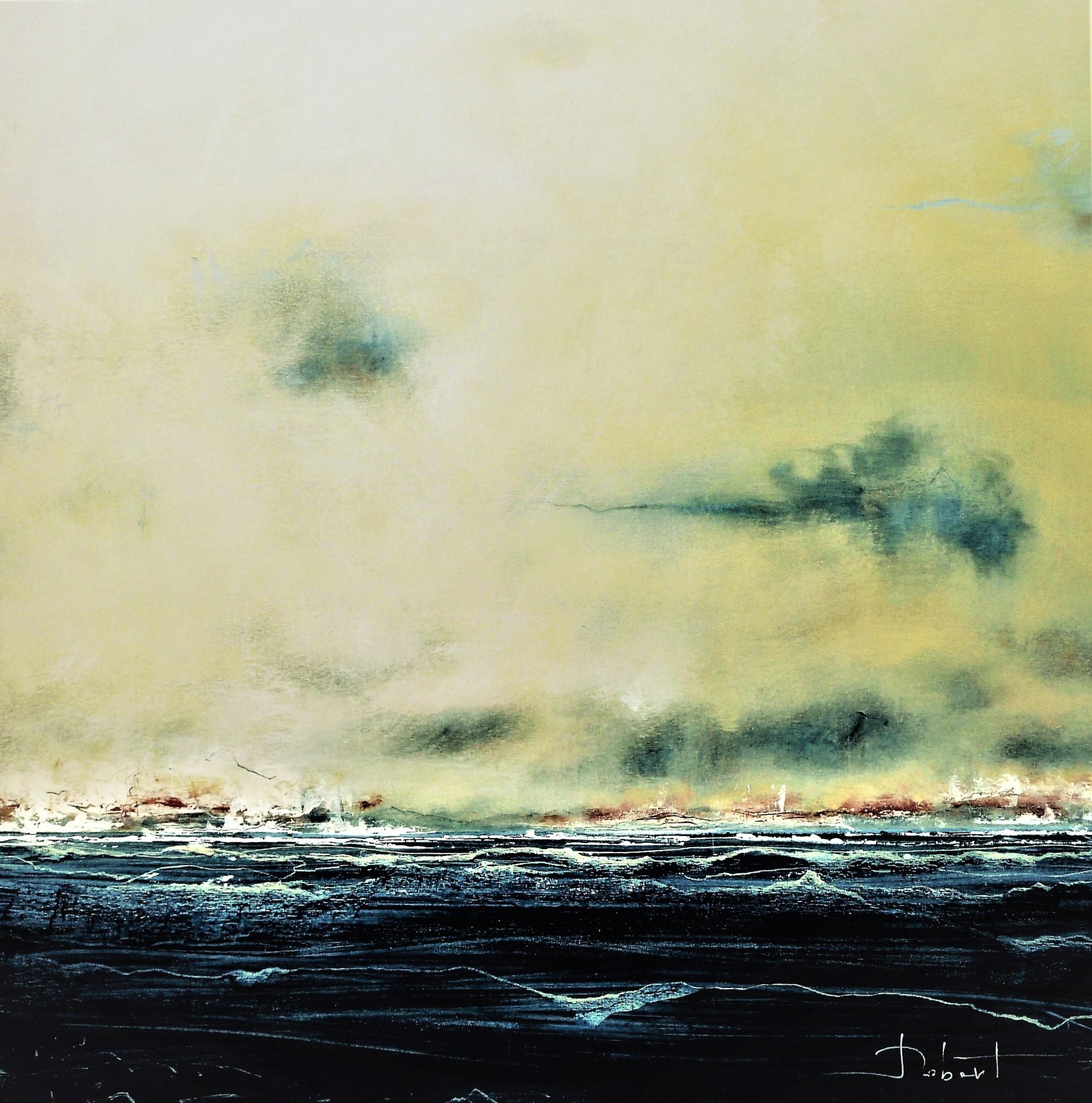 Océan Mer Num 20 acrylique sur toile 100x100 cm NEW OK P1080712 (4)