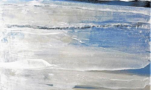 Océan Mer Num 24 acrylique sur toile 100X100 cmP1090228