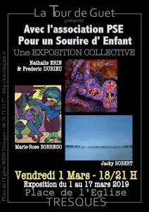 EXPO TOUR DE GUET MARS 2019 AFFICHE